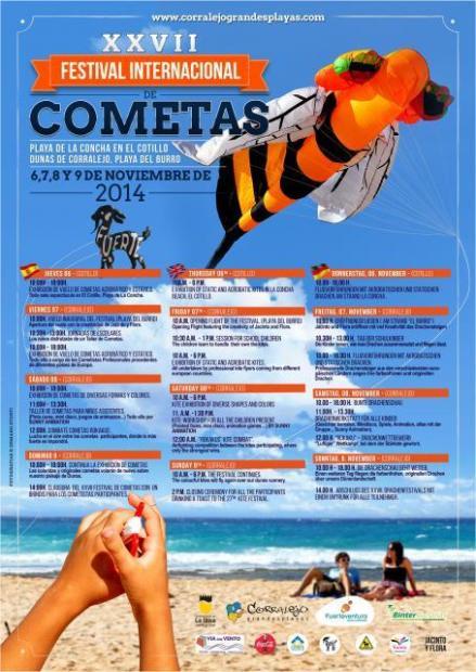 Festival Internazionale degli Aquiloni - Corralejo - 6 al 9 Novembre