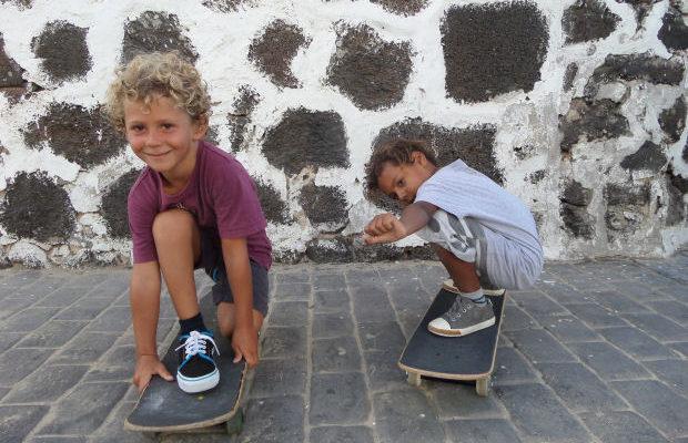 bambini skateboard